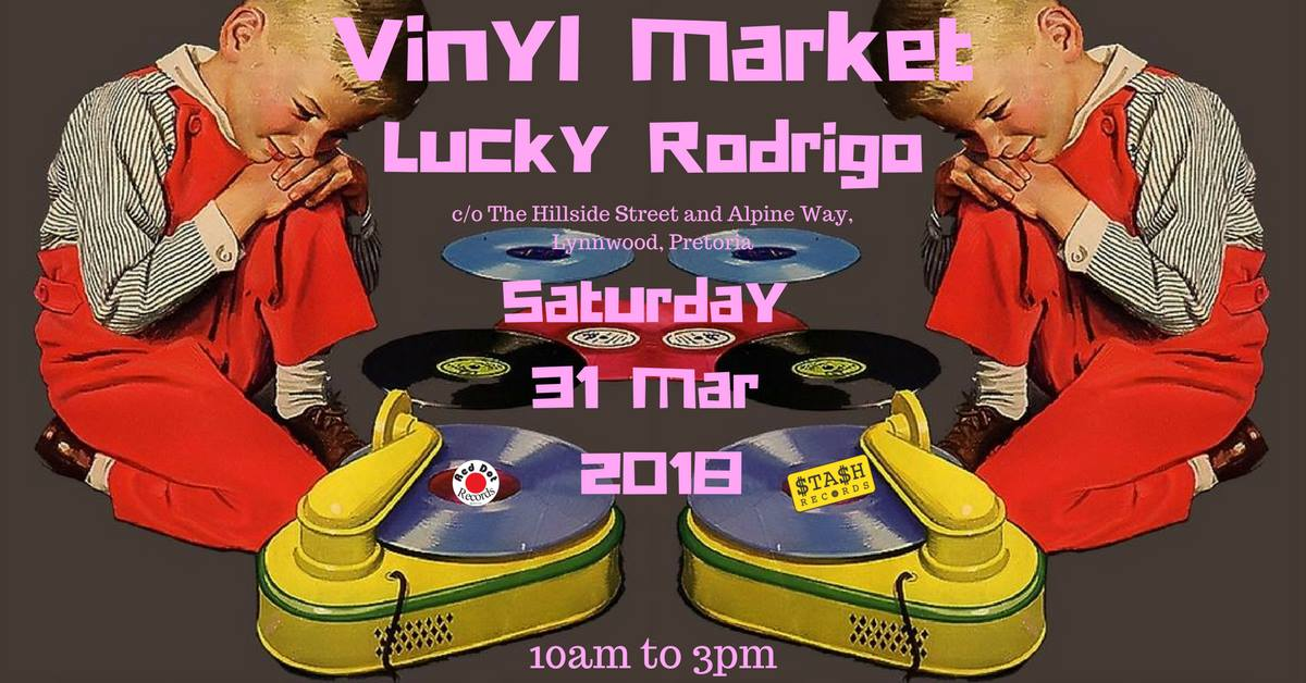Vinyl fair at Lucky Rodrigo - 31 March 2018