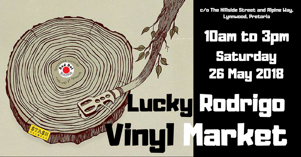 Vinyl fair at Lucky Rodrigo - 26 May 2018